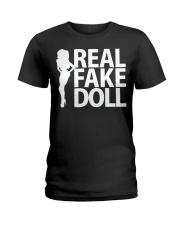 Real Fake Doll - White Ladies T-Shirt thumbnail