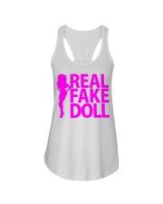 Real Fake Doll - Pink Ladies Flowy Tank thumbnail