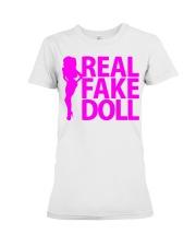 Real Fake Doll - Pink Premium Fit Ladies Tee thumbnail