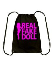 Real Fake Doll - Pink Drawstring Bag thumbnail
