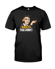 Back to the lobby - Design on 15 Products  Premium Fit Mens Tee thumbnail