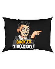 Back to the lobby - Design on 15 Products  Rectangular Pillowcase thumbnail