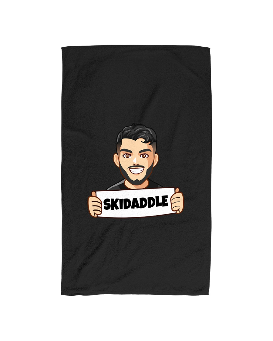 Skidaddle - Design on 15 Products  Hand Towel