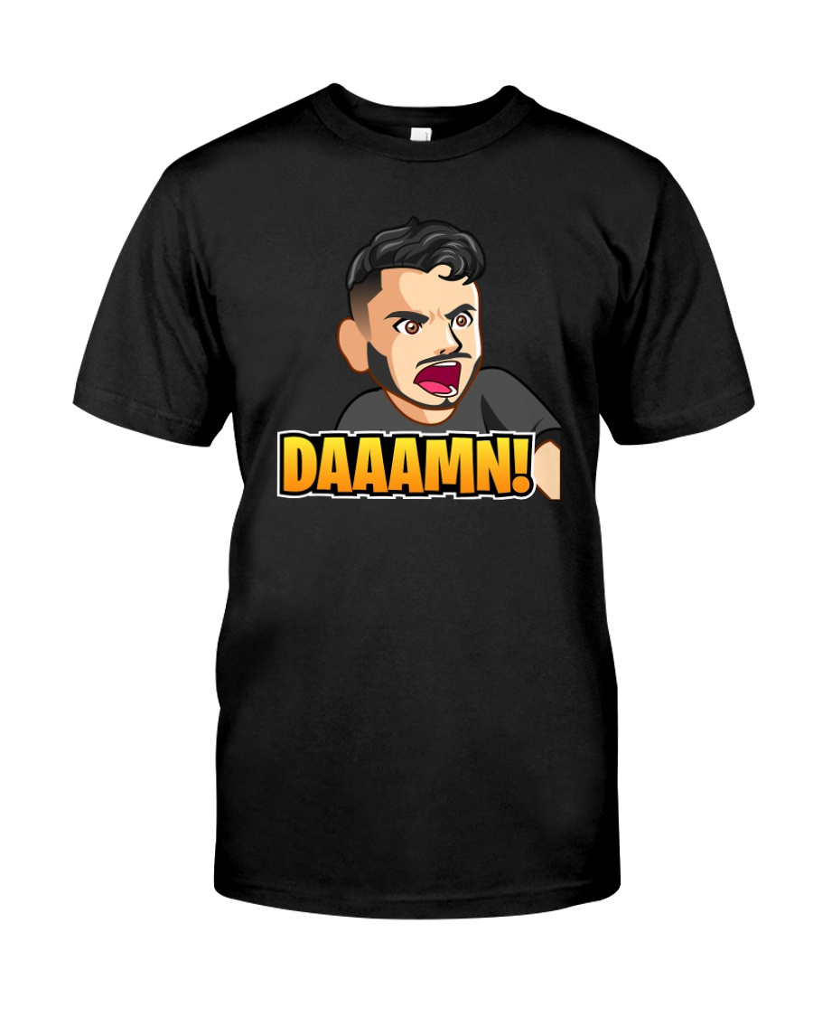 Daaamn - Design on 15 Products  Premium Fit Mens Tee