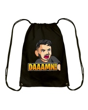 Daaamn - Design on 15 Products  Drawstring Bag tile
