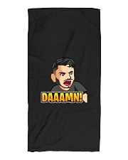 Daaamn - Design on 15 Products  Beach Towel front