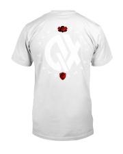 QX - Clothes and Accessories - Black logo Premium Fit Mens Tee back