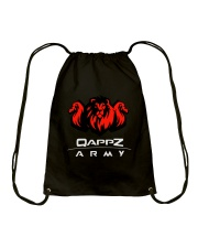 Qappzarmy V1 Design Drawstring Bag thumbnail