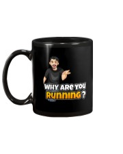 Why are you running - Design on 15 Products  Mug back