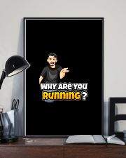 Why are you running - Design on 15 Products  16x24 Poster lifestyle-poster-2