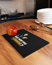 Why are you running - Design on 15 Products  Rectangle Cutting Board aos-cuttingboard-rectangular-lifestyle-01