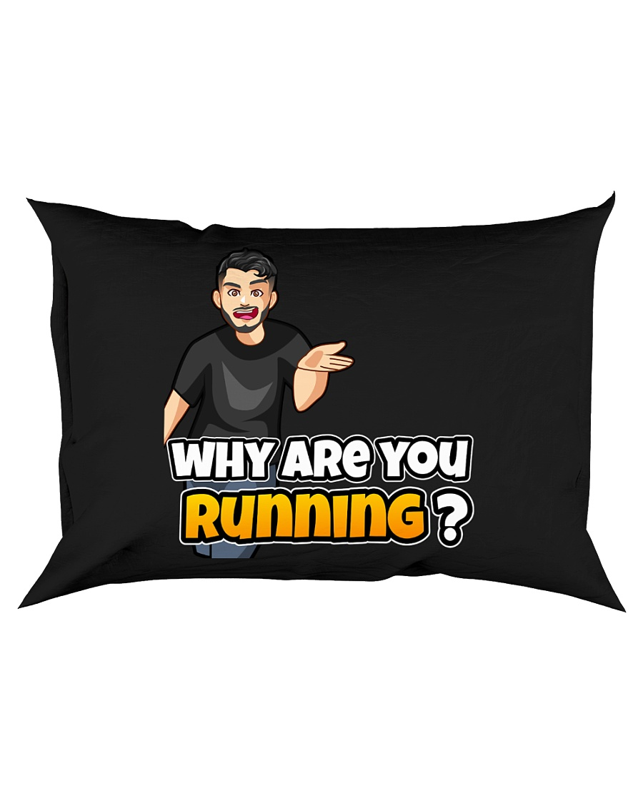Why are you running - Design on 15 Products  Rectangular Pillowcase