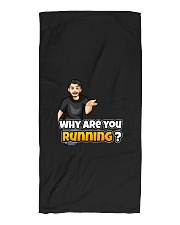 Why are you running - Design on 15 Products  Beach Towel thumbnail