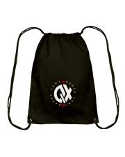 QX - Clothes and Accessories - White logo Drawstring Bag thumbnail