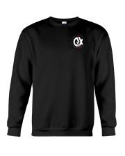 QX - Clothes and Accessories - White logo Crewneck Sweatshirt thumbnail