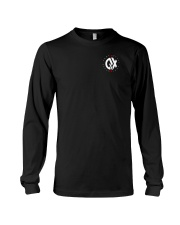 QX - Clothes and Accessories - White logo Long Sleeve Tee thumbnail
