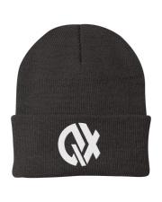QX - Clothes and Accessories - White logo Knit Beanie thumbnail