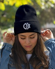 QX - Design on 19 Products  Knit Beanie garment-embroidery-beanie-lifestyle-07