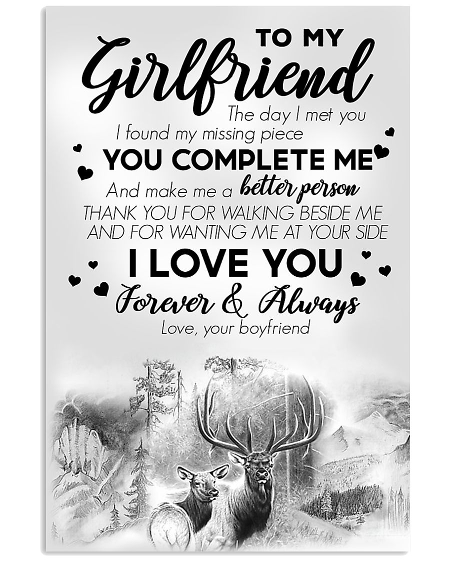 To My Girlfriend 11x17 Poster