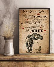 To my amazing nephew 16x24 Poster lifestyle-poster-3