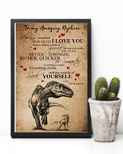 To my amazing nephew 16x24 Poster lifestyle-poster-8