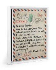 Tochter - Mama and Papa 11x14 White Floating Framed Canvas Prints thumbnail