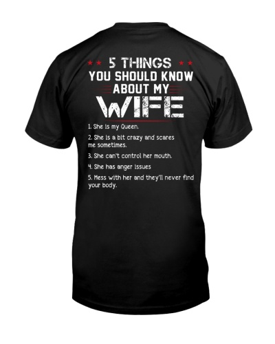 5 Thing My WIFE