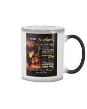 To My Husband - Wife Color Changing Mug tile
