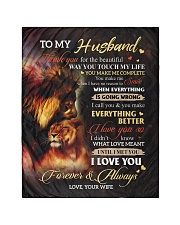 """To My Husband - Wife Quilt 40""""x50"""" - Baby thumbnail"""