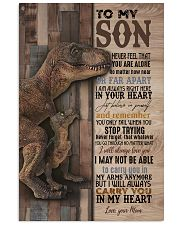 To My  Son - Mom 16x24 Poster front