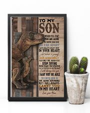 To My  Son - Mom 16x24 Poster lifestyle-poster-8