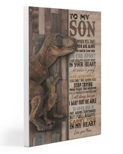To My  Son - Mom 20x30 Gallery Wrapped Canvas Prints thumbnail