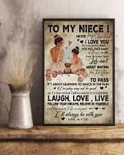 To My  Niece - Auntie 16x24 Poster lifestyle-poster-3