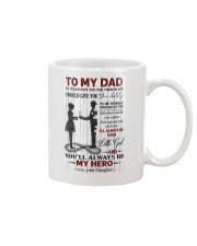 To My Dad - Daughter Mug thumbnail