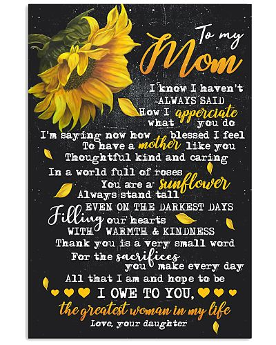 To My Mom - Daughter