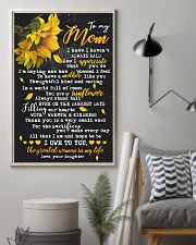 To My Mom - Daughter 16x24 Poster lifestyle-poster-1