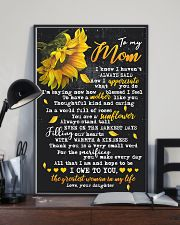 To My Mom - Daughter 16x24 Poster lifestyle-poster-2