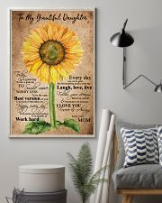 To My Daughter - Mom 11x17 Poster lifestyle-poster-1