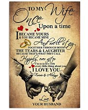 To My Wife - Husband 11x17 Poster front