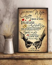 To My Wife - Husband 11x17 Poster lifestyle-poster-3