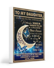 To My Daughter - Mom  Gallery Wrapped Canvas Prints tile