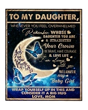 To My Daughter - Mom  Quilt tile