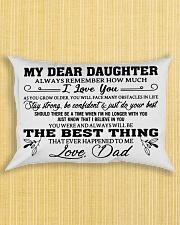 MY DEAR DAUGHTER - DAD Rectangular Pillowcase aos-pillow-rectangle-front-lifestyle-6