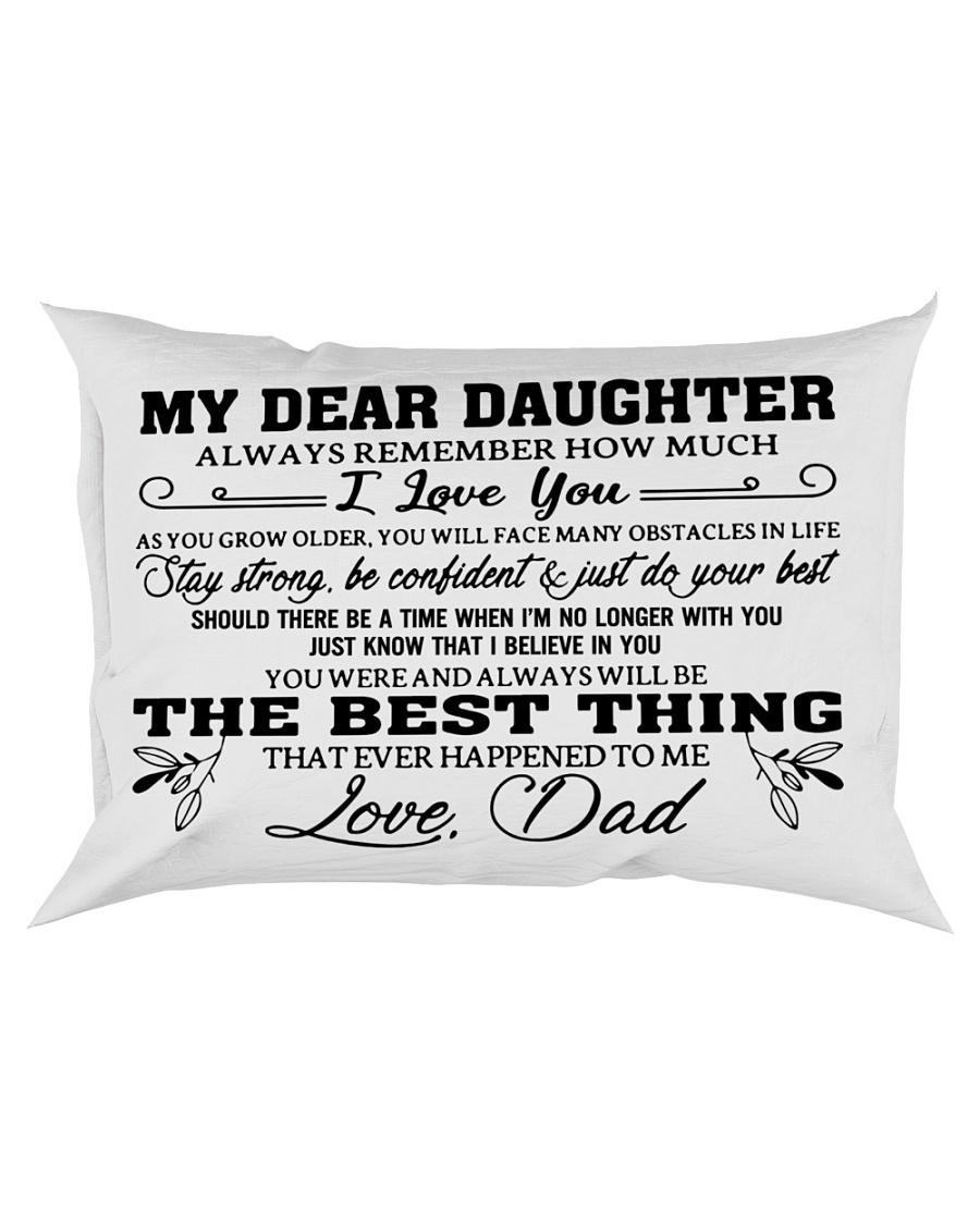 MY DEAR DAUGHTER - DAD Rectangular Pillowcase