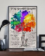 To My Daughter - Mom 11x17 Poster lifestyle-poster-2