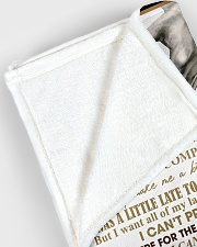"To My Wife - Husband Large Fleece Blanket - 60"" x 80"" aos-coral-fleece-blanket-60x80-lifestyle-front-12"