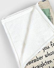 "Mother Large Fleece Blanket - 60"" x 80"" aos-coral-fleece-blanket-60x80-lifestyle-front-12"