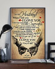 To My Husband - WIfe 11x17 Poster lifestyle-poster-2