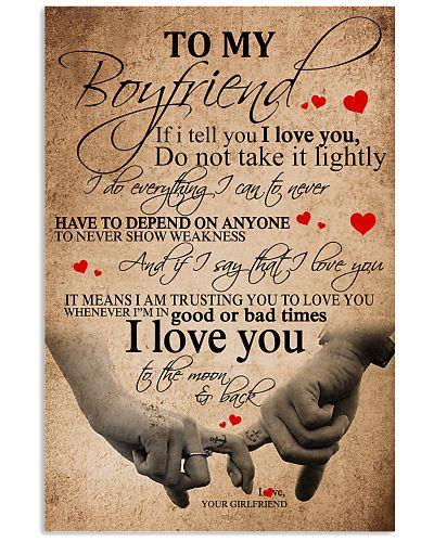 To My Boy Friend