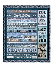 "To My Son - Mom Quilt 50""x60"" - Throw thumbnail"
